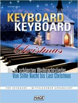 keyboard christmas
